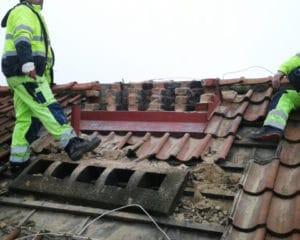 Renovering av skorsten
